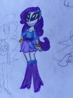 Some Equestria Girls Rarity by CAMIKOOPA