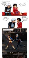 Champions and Heroes: Catching a Hawke III by Ddriana