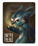 Badge for Qing Long by Silverfox5213