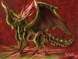 Request: Uproot green dragon by MARKCW