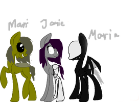Ponys For Maniactheleader,pferdausglas And Des by D0omy