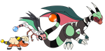 Pokemon Fusion by IceDragonQueen22