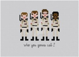 Ghostbusters cross stitch pattern by avatarswish
