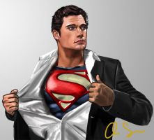 Man of Steel by osx-mkx