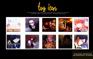 Tag Icon-mis Animes Favoritos by freeyaonoexorcist