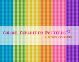 Colour Checkered Patterns2 by powerpuffjazz