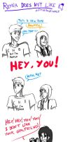 Reyna doesn't like Jason's girlfriend by ALittleBlueApple