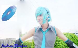 Andrew Bluefire as Mikuo Hatsu by Andrewbluefire