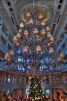 Grand Floridian Chandelier by JoeMyDodd