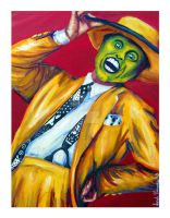 Jim Carrey:  The Mask by SarahRaynes