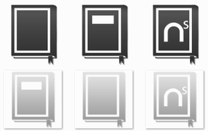 Token Book Icons by EchoingDroplet