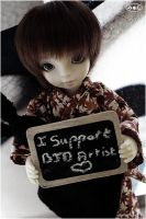 I support BJD artists~ by Myushi
