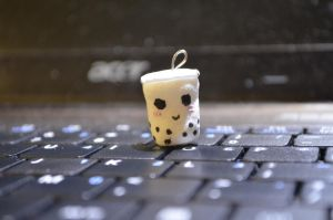 Kawaii Bubble Tea Charm by Thao-mymy728