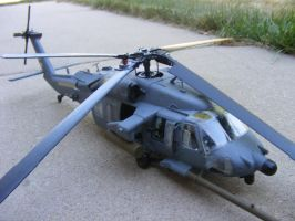 AH 60L DAP Black Hawk model kit by Were-Owl