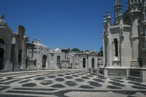 Lisbon Cemetery Stock 45 by Malleni-Stock