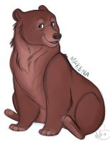 Makena Bear by Miss-Melis
