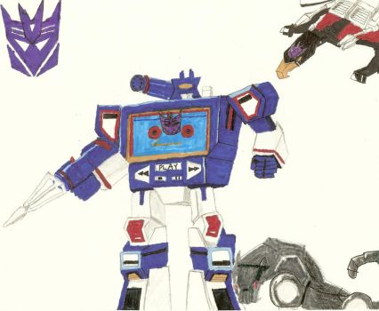 Soundwave by LordOfAwesomeTown