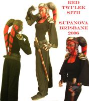 Red Twi'lek Sith - costume by quotidia
