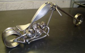 Scrap metal chopper by ShaneMartinDesigns