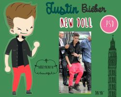 Justin Bieber Doll by AbbeyDenith