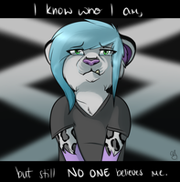 No One Believes Me by AleuWolfess
