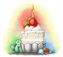 Pokecake Time by eyestea