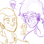 more humanstuck sketches what a surprise by LeaTheInvader