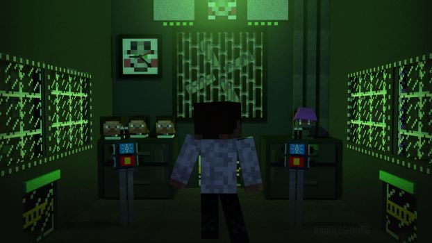 Sister Location Main Office (Minecraft Render) by HDDoesGaming
