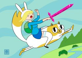 Fionna and Cake by FaJaR2