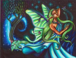 Luna Moth Fairy by Ai-Don