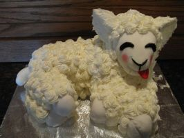 lamb cake by Cat-Videos
