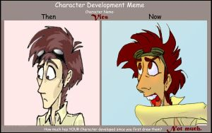 Character Development meme by Moony-moo