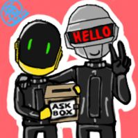 ask-daftpunk @ tumblr by Ask-DaftPunk4tumblr
