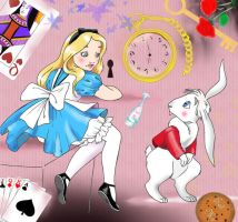 Alice... by MarineElphie