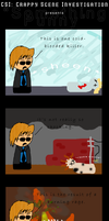 CSI: Something Punny by KillMePleaseGod