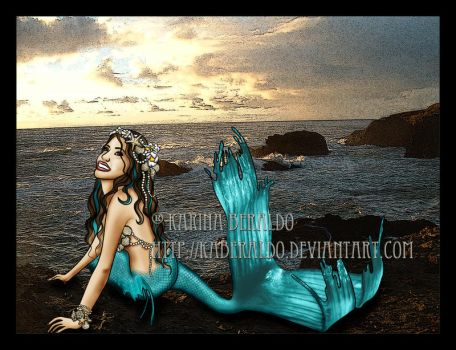 Blue Mermaid by kaberaldo