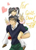 For Giuly-chan by ravenator94