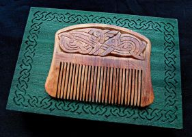 VIKING COMB by MassoGeppetto