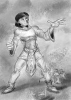 Sketchy Warlock by RedSlicer