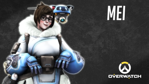 (SFM) Mei - Overwatch by TheSovietHeavy