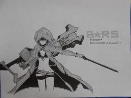 Black Rock Shooter Tv Version...^^ by blackrockmark