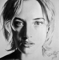 Kate Winslet-drawing by DriRosArte