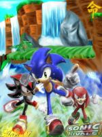 . Sonic Rivals. by Arisa01