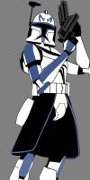 Star Wars: Captain Rex by Animationfreaky
