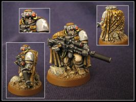 Grey Death Legion Scout Sniper by aaronprovost