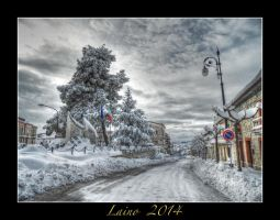 Palata and snow by laino