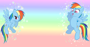 Rainbowdash wallpaper by OctaviaCello