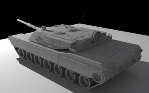 M1 Abrams MBT by ExoticcTofu