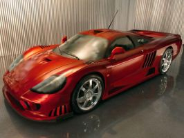 Saleen S7 Twin Turbo Gradient Mesh by whendt