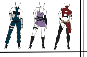 Adoptables-Outfit Set 14 CLOSED by HardyDytonia